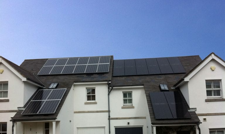 solar panels homes West sussex
