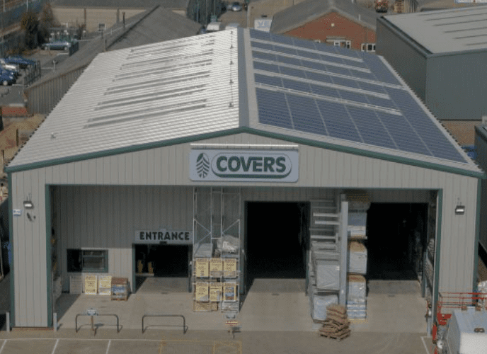 solar panels for commercial and business